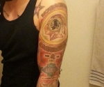 Washington Redskins Logo/SB Tattoo