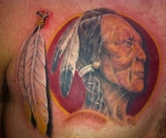 Washington Redskins Alternative  Tattoo