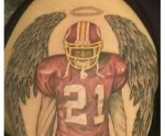 Washington Redskins Sean Taylor Tattoo