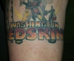 Washington Redskins Tattoo