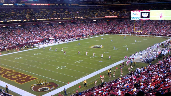 Preseason Game Four: Redskins vs. Bucs (2011)