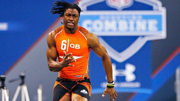 A Great Combine=Higher Draft Value For RGIII