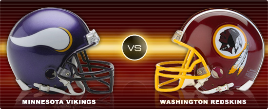 Washington Redskins Vs Minnesota Vikings Week 6
