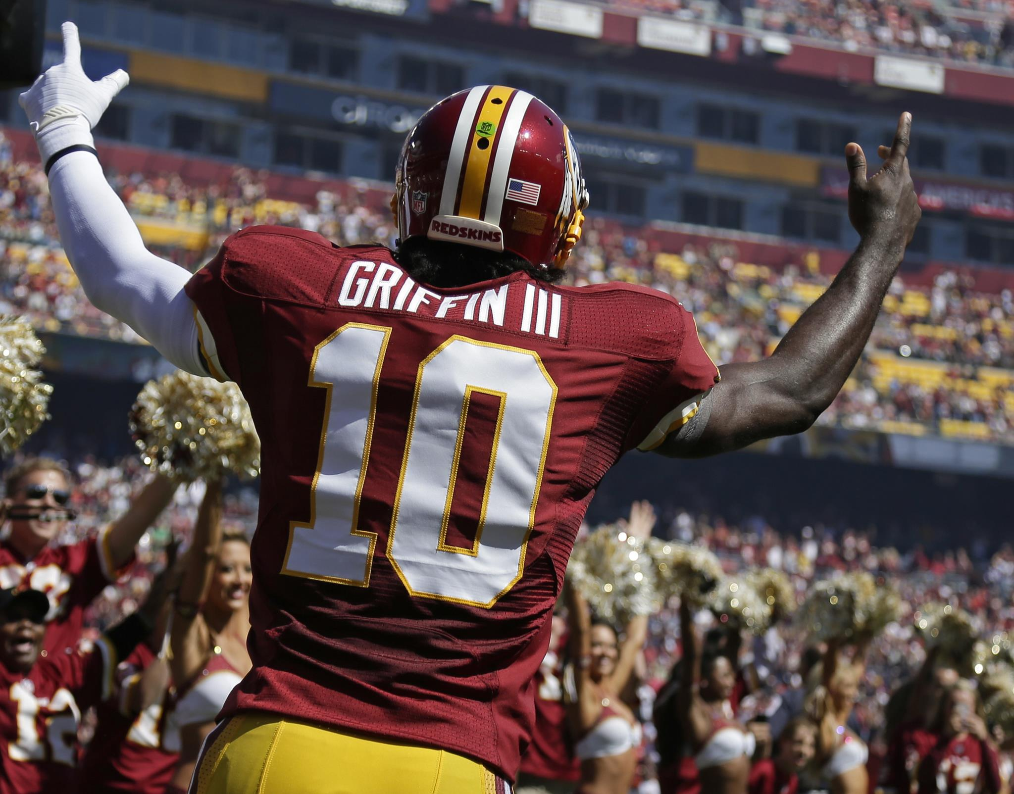 Robert Griffin III Wins NFC Player of the Week Honors