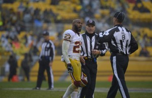 DeAngelo Hall Will be Fined, Not Suspended for Outburst on Official