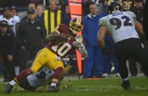 Robert Griffin III: MRI Reveals Sprained Knee