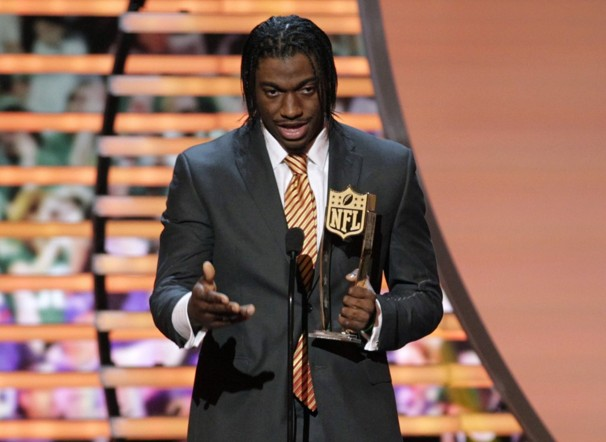 RG3 Gets Rookie of the Year