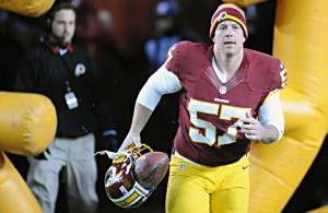 Redskins Re-Sign Long Snapper Nick Sundberg