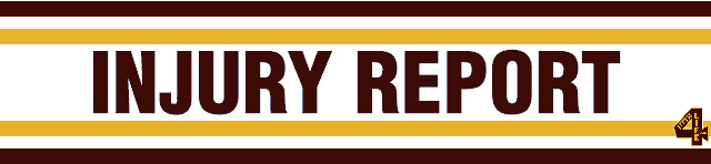 Redskins Injury Report 10-23-2014