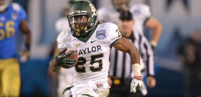 Redskins Draft RB Lache Seastrunk