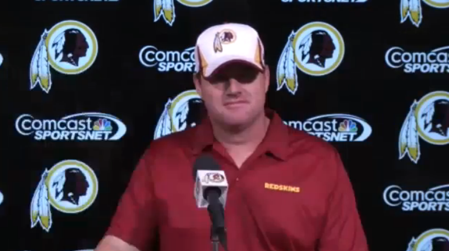 Jay Gruden After the Third day