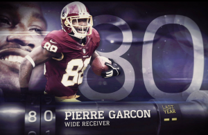 Pierre Garcon Named Number 80