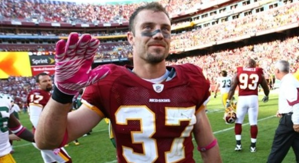 Reed Doughty Bids Farewell to the Redskins