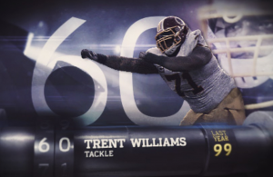 Trent Williams Named Number 60
