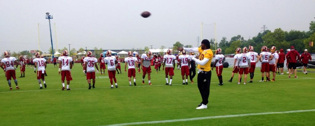Washington Redskins Training Camp Drills 7-24-2014