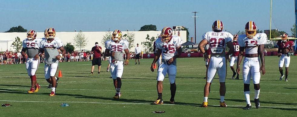 Washington Redskins Training Camp Drills 7-28-2014