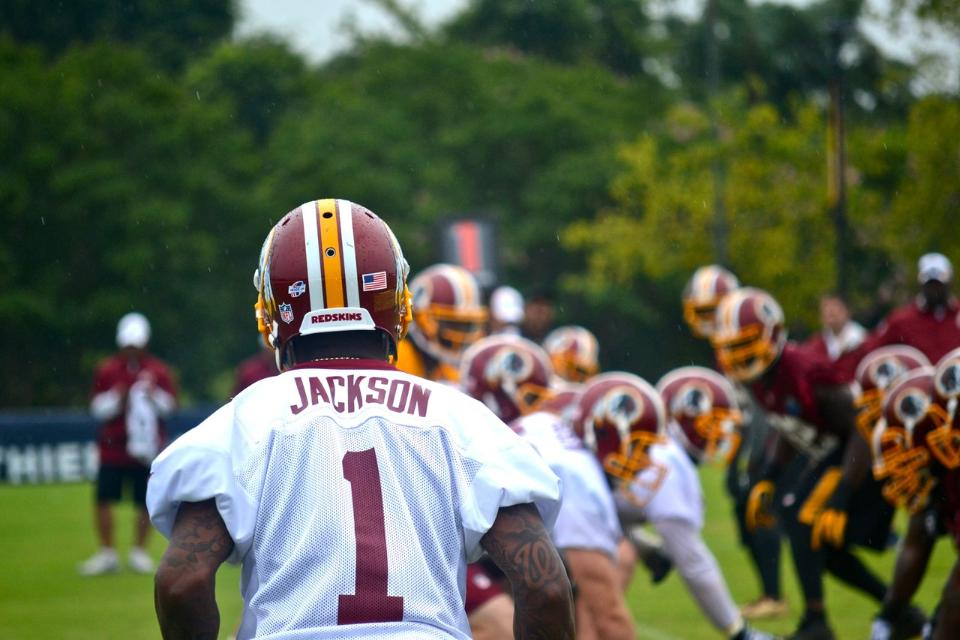 Washington Redskins Training Camp Drills 8-1-2014