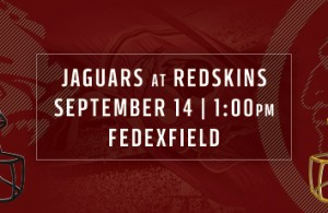 Redskins vs Jaguars - Week 2 Promo