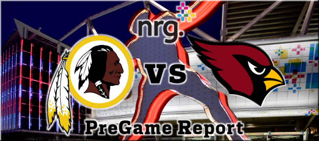 Redskins vs Cardinals Week 13