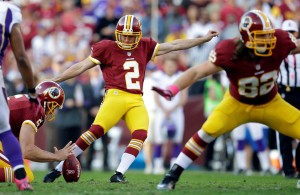 Redskins Kicker Kai Forbath Signs Restricted Free Agent Tender