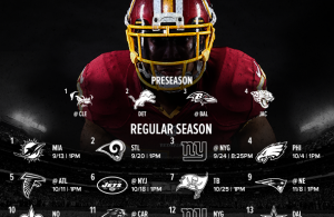 First Thoughts on Redskins 2015 Schedule