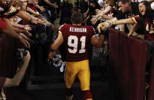 Ryan Kerrigan has Knee Procedure