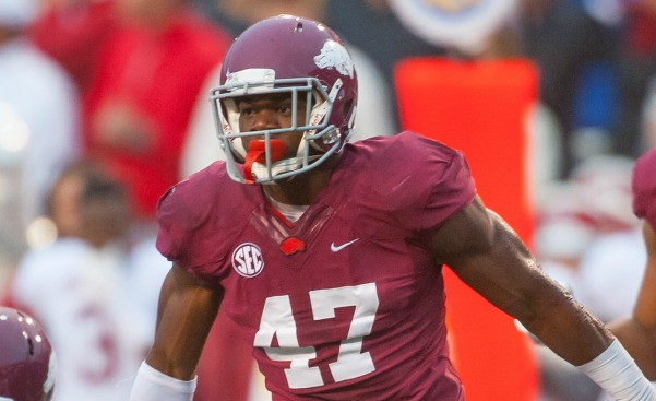 Washington Redskins Select LB Martrell Spaight With the 141st Pick (2015 NFL Draft)
