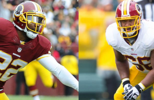 Redskins Release Chris Chester & Tracy Porter
