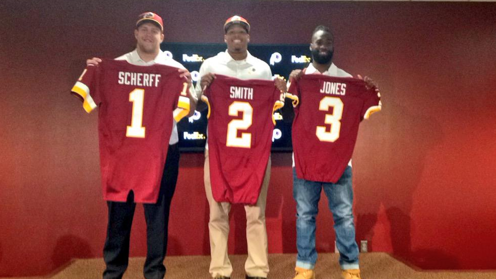 2015 Redskins Draft Class: Assigned Numbers