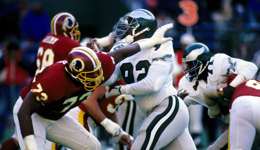 Redskins vs Eagles 12-4-1988 (Full Game)