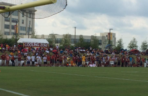 Redskins Training Camp Drills 7-30-2015; Recap Day 1