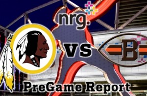 NRG Energy Pre-Game Report - Redskins vs Browns Week 4