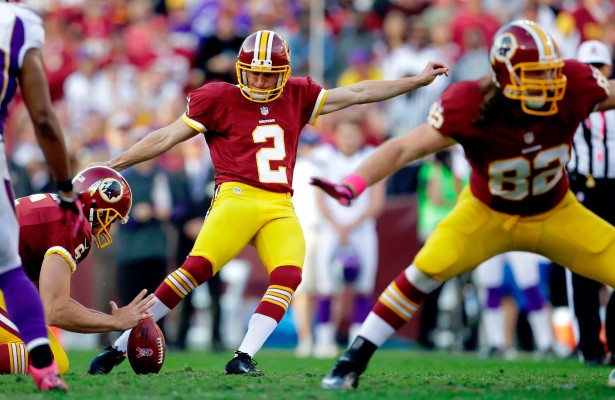 Redskins Release Kicker Kai Forbath, Sign Dustin Hopkins