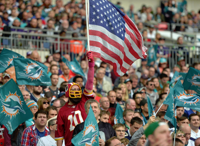 Redskins Could Play London Game in 2016