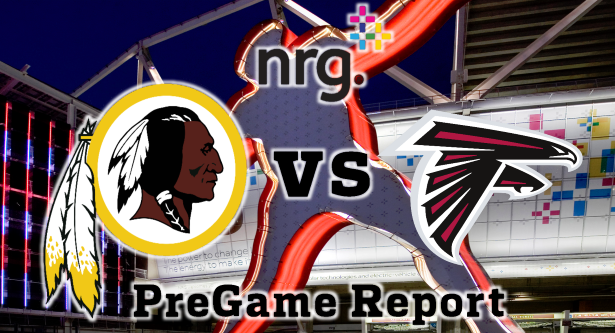 NRG Energy Pre-Game Report - Redskins vs Falcons Preseason Week 1