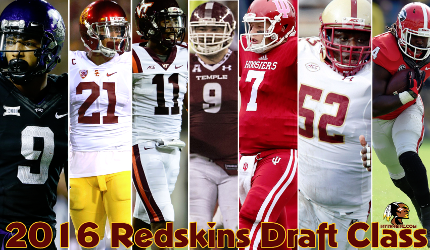 2016 Redskins Draft Recap