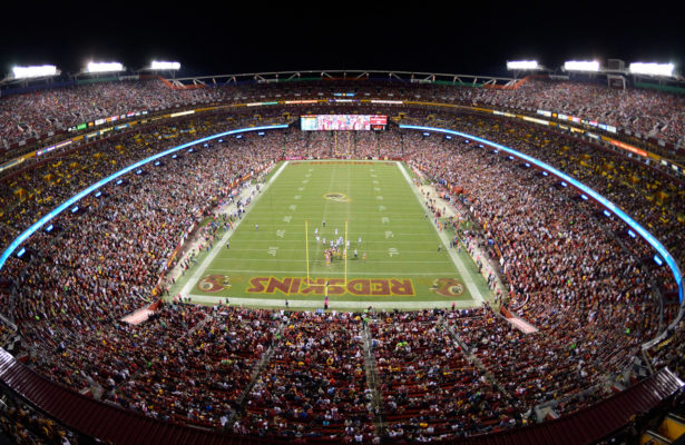 Redskins Announce Fan Information For MNF Season Opener