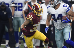 Redskins Sign CB Dashaun Phillips to Practice Squad; Release LB Carlos Fields