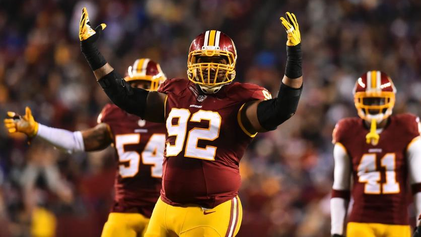 Chris Baker Wants to Return to the Redskins and Retire in Washington