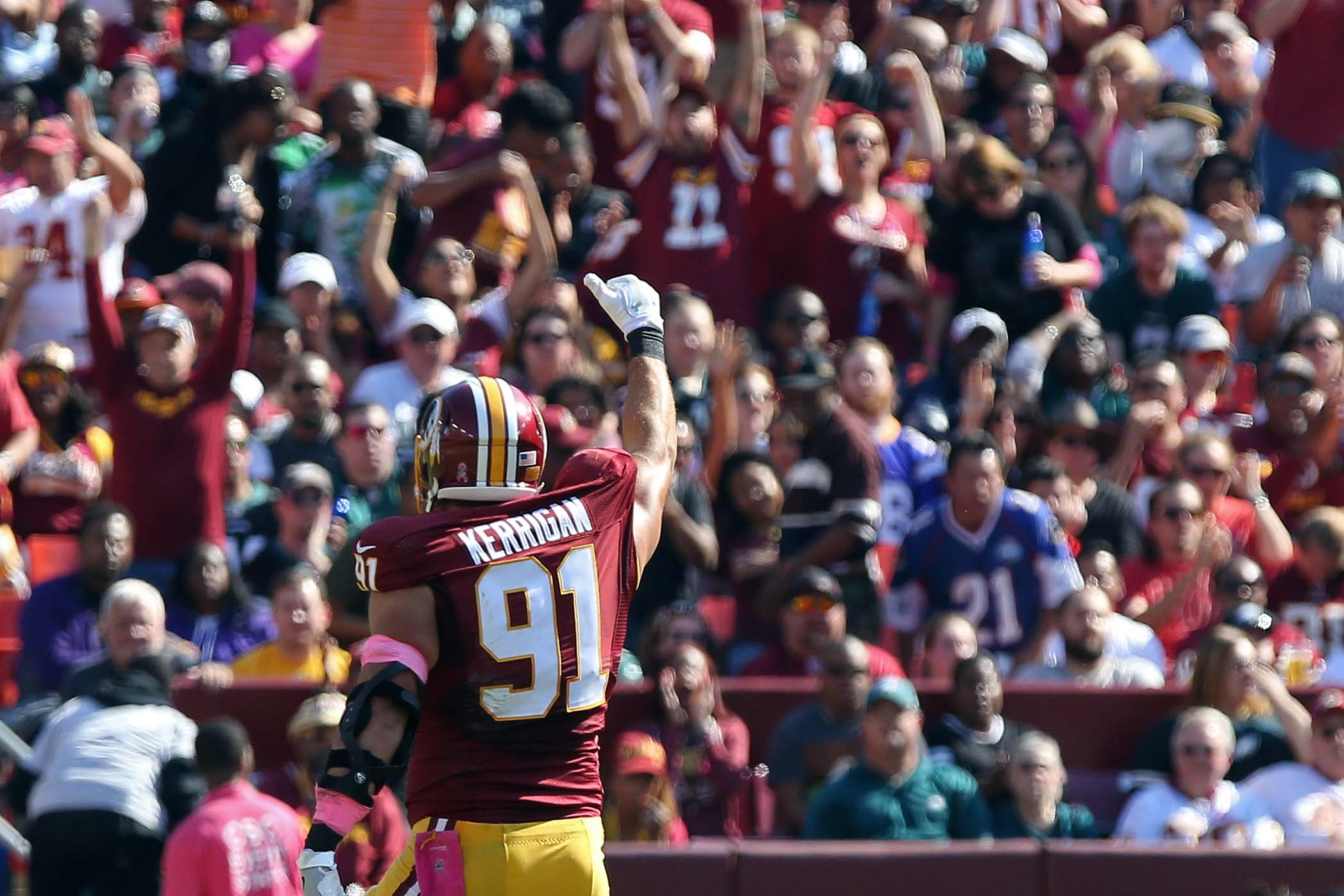 Ryan Kerrigan Undergoes Elbow Surgery