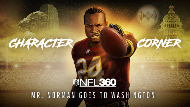 VIDEO: Josh Norman - Character Corner