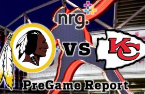 HTTR4LIFE Pre-Game Report - Redskins vs Chiefs Week 4