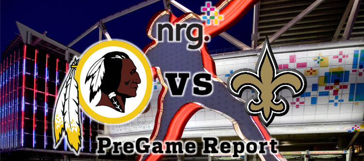 Redskins vs Saints Week 11