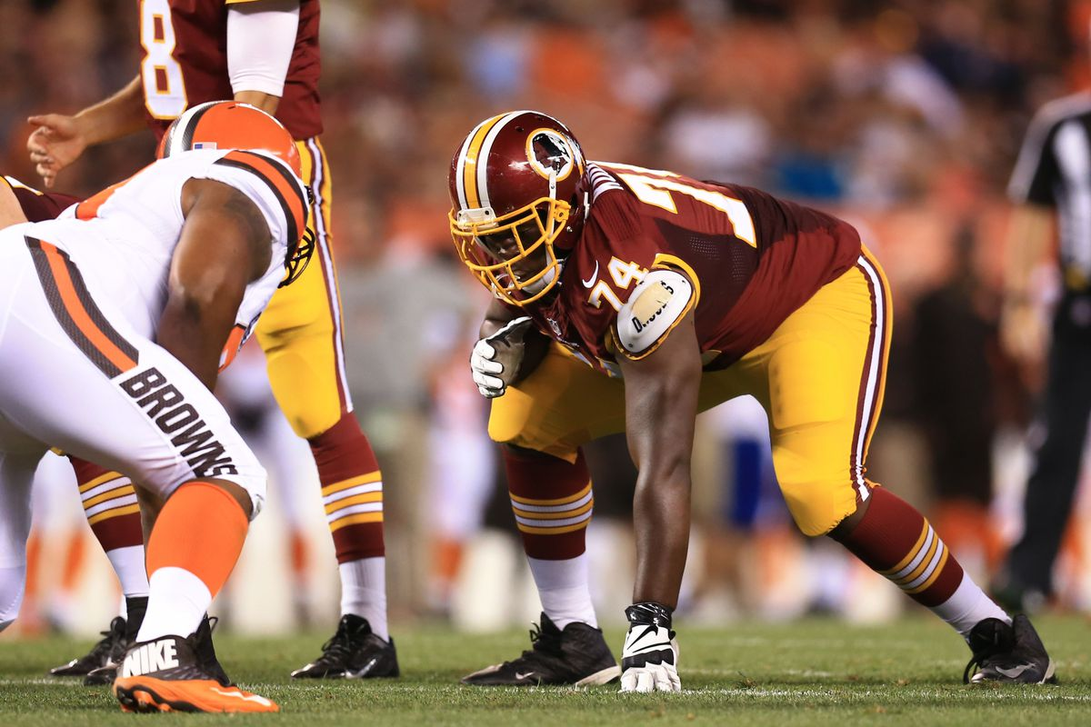 Redskins LG Arie Kouandjio will miss 2018 season after surgery