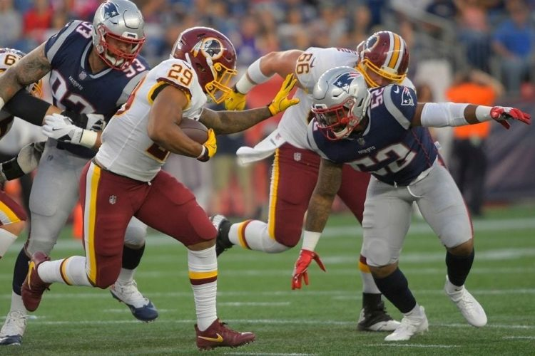 Redskins place three players on IR