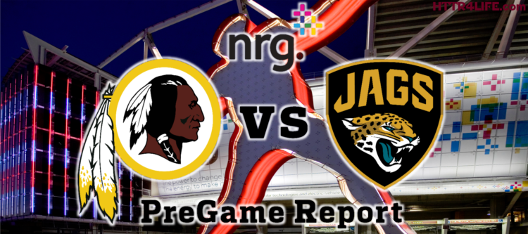 HTTR4LIFE Pre-Game Report - Redskins vs Jaguars Week 15