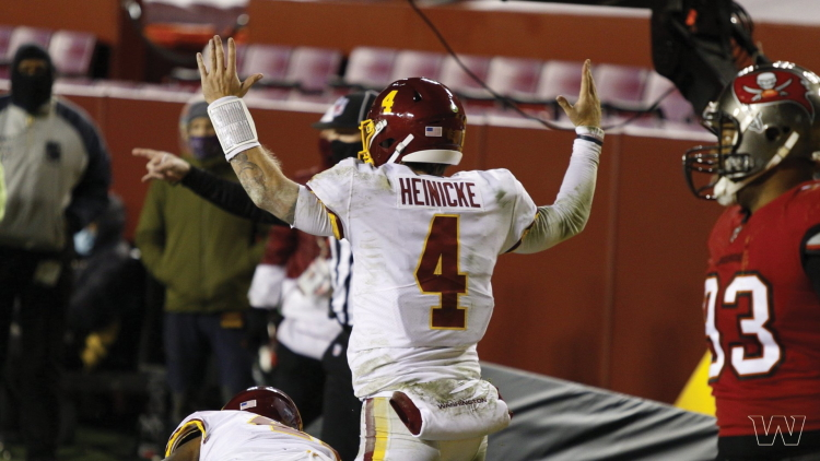 Taylor Heinicke Signs Two-Year Deal With Washington