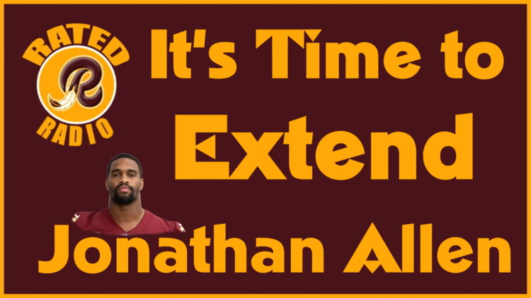 The Time has Come to Either Extend Jonathan Allen or Trade him